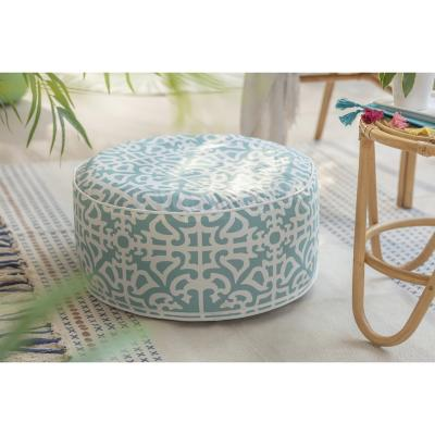 Pouf inflable terraza 53x23 cm