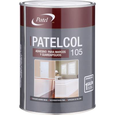 Adhesivo para marcos y guardapolvos galon 3.8 litros