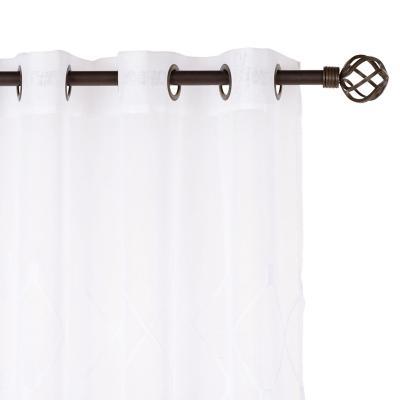 Set de velos 140x220cm blanco