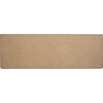Alfombra pasillo Esparta 66x200 cm beige