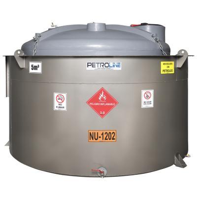 Estanque combustible gravitank diesel 5000 l