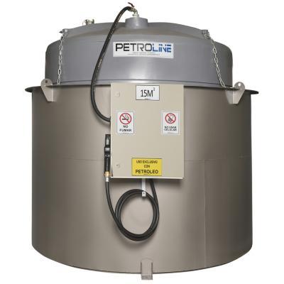 Estanque combustible isla tank diesel 15000 l