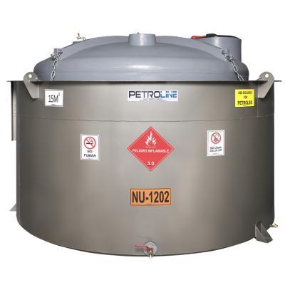 Estanque combustible gravitank diesel 15000 l