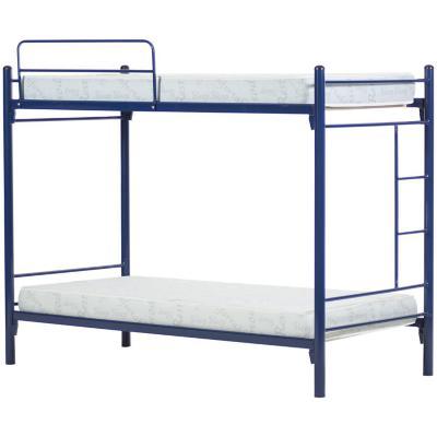 Camarote metal alfa 1 plaza azul+2 colchones