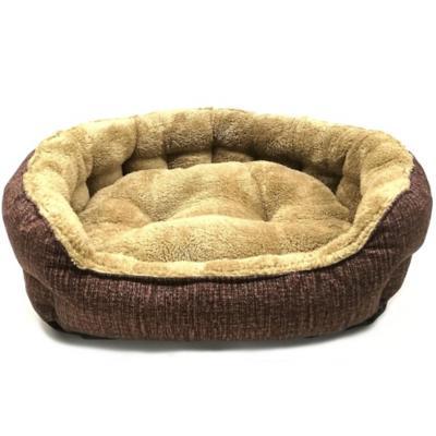 Cama para perro ovalada 59x68x19 cm