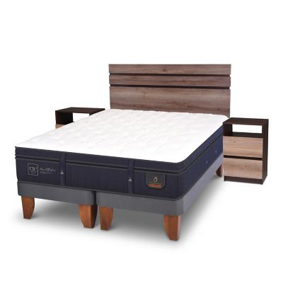 Cama Europea Super Premium King  + muebles