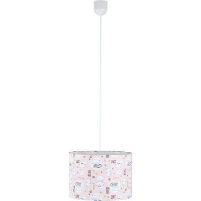 Lámpara de Colgar Gato Rosa E-27 60 W