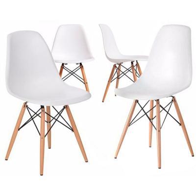 Pack 4 sillas blancas