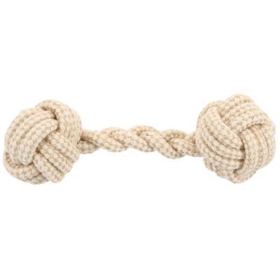 Juguete pesa cuerda de yute para perros