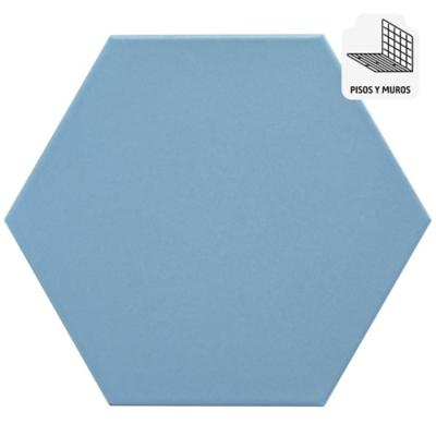 Cerámica azul 20x23 cm 1 m2