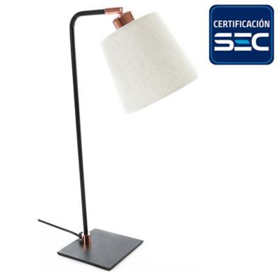 Lámpara de mesa ele mix E27 40W cobre