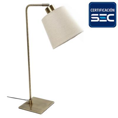 Lámpara de mesa ele fume con cabezal movible E27 40W