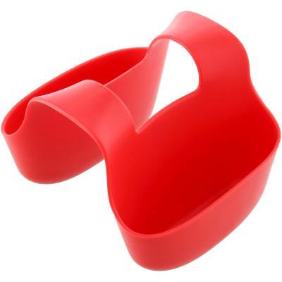 Porta y escurre espononja doble Rojo