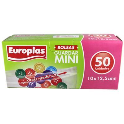 Bolsa hermetica europlas mini 50 unidades
