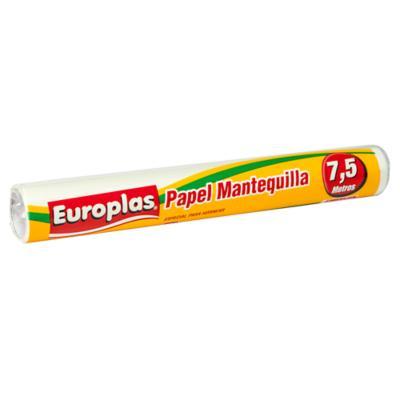 Papel mantequilla europlas 7,5 m