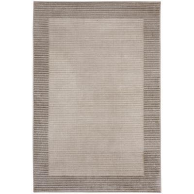 Alfombra Marseilles borde 133x190 cm beige