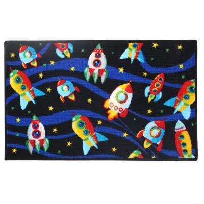 Alfombra Rockets 50x80 cm multicolor