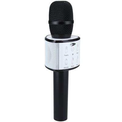 Micrófono karaoke bluetooth color negro