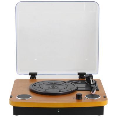 Tornamesa portátil bluetooth con tapa y grabación a pc