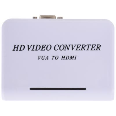 Convertidor VGA + audio a HDMI hembra