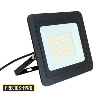 Reflector 150 W luz calida negro