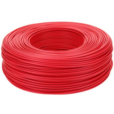 Cable riego 18 awg rojo rollo 200m