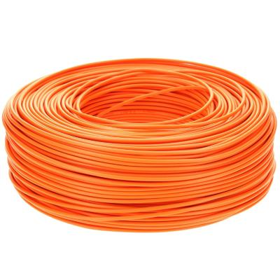 Cable riego 18 awg naranjo rollo 200m