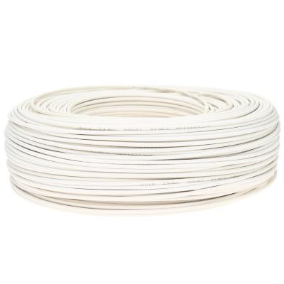 Cable riego 18 awg blanco rollo 200m