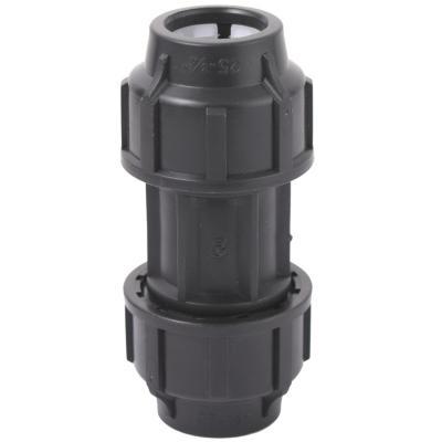 Conector recto 25 mm polipropileno