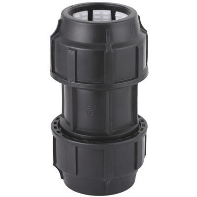 Conector  recto 63 mm polipropileno