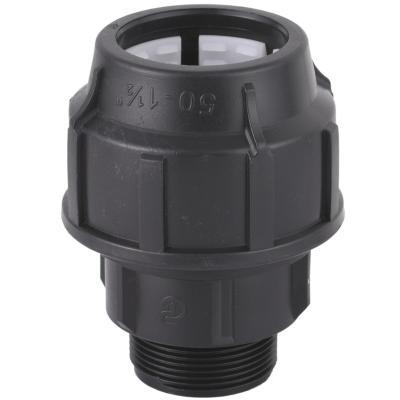 Conector he 50mm-1,1/2polipropileno