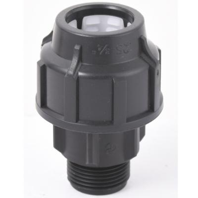 "Conector he 25 mm-3/4""polipropileno"