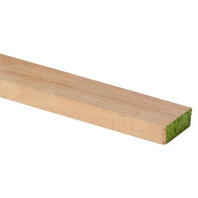 1 x 2 x 3,20 m pino dimensionado verde