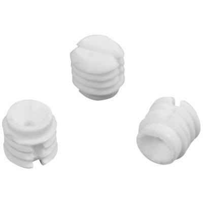 Tarugo s/hilo 10x10 mm blanco bolsa 1000 un
