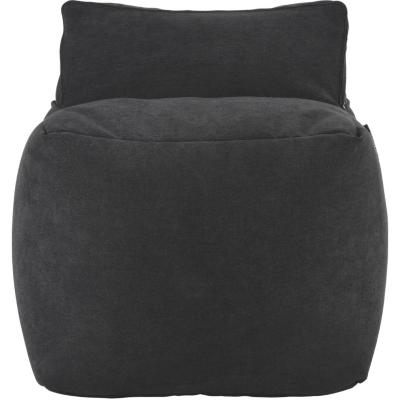 Sillón Pouf  63x53x63 cm negro