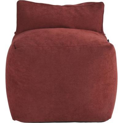 Sillón Pouf  63x53x63 cm rojo