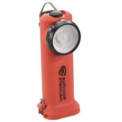 Linterna LED a pilas - Naranja
