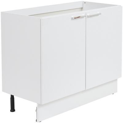 Mueble base 100 2 puertas sin cubierta