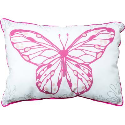 Cojín ramitas y mariposas 33x22 cm