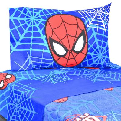Sabana multicolor spiderman 1,5 plaza