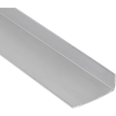 Ángulo Aluminio 32x12x1 mm Mate  6 m