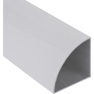 Esquinero Aluminio 66x66x1 mm Blanco  6 m