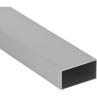 Tubular Aluminio 100x50x1.5 mm Mate  3 m