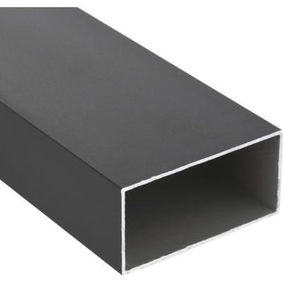 Tubular Aluminio 40x80x1,2 mm Bronce  6 m