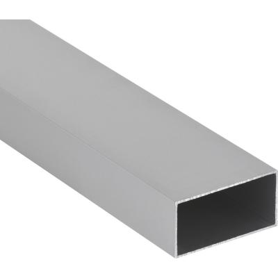 Tubular Aluminio 40x80x1,2 mm Mate  6 m
