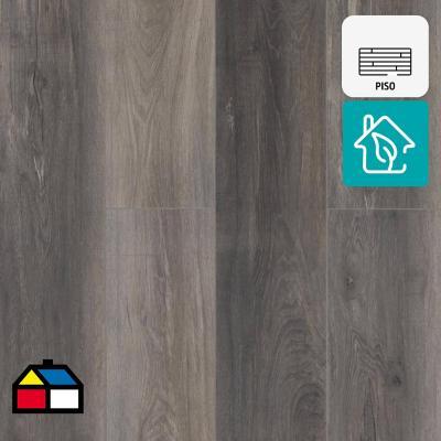 Piso SPC gris click 2,2 m2