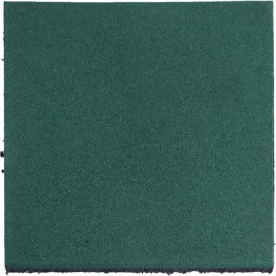 Palmeta caucho 50x50x2.5 cm verde
