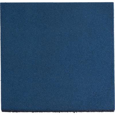 Palmeta caucho 50x50x2.5 cm azul