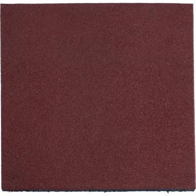Palmeta caucho 50x50x2.5 cm rojo