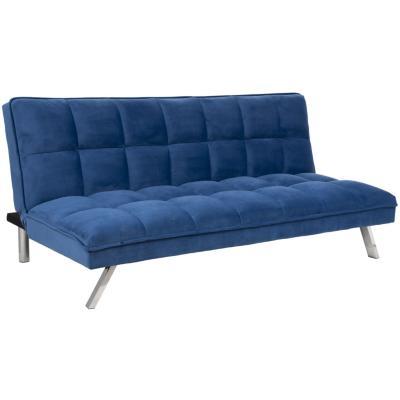 Futón 179x97x82 cm azul